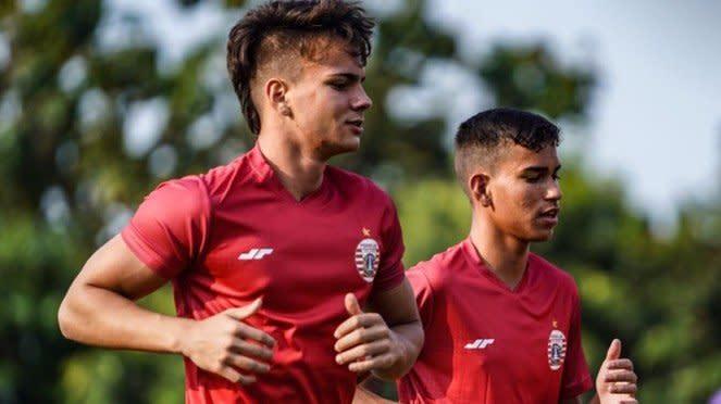 Dua pemain muda Brasil ikut latihan Persija Jakarta