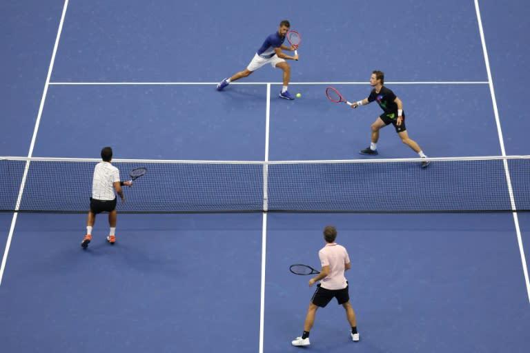 'Happy days' - Pavic, Soares lift US Open men's doubles trophy