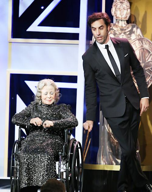 Sacha Baron Cohen 'Kills' Charlie Chaplin's Oldest Living Co-Star