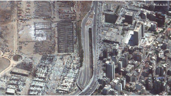 Tagihan Kerugian Ledakan Beirut Rp219 Triliun, Lebanon Minta Tolong