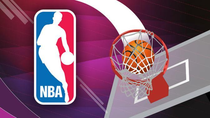 ilustrasi NBA (Liputan6.com/Abdillah)
