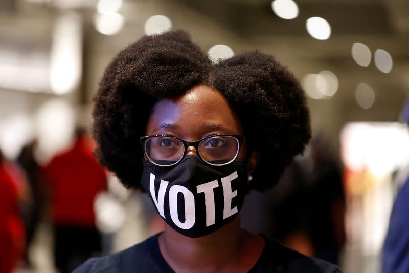 Economy, pandemic overshadow climate for young U.S. voters
