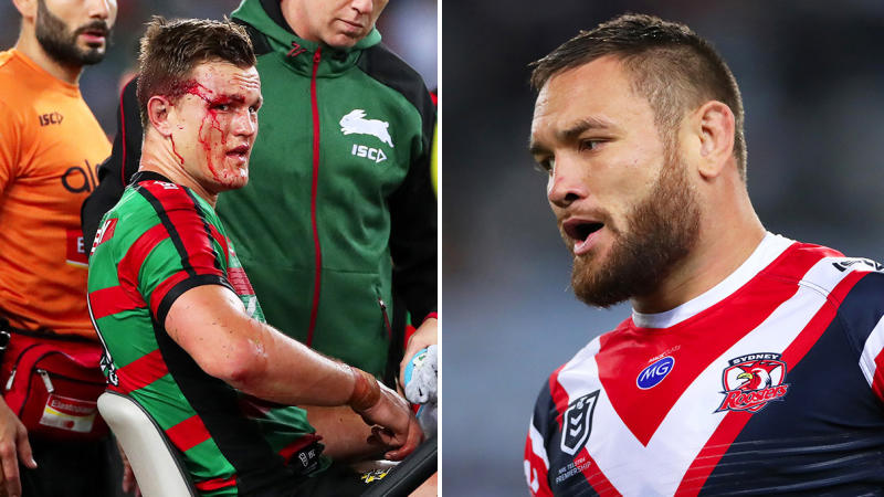 Jared Waerea-Hargreaves escaped a suspension for his hit on Liam Knight. (Getty Images)