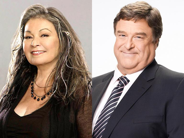 Roseanne Barr and John Goodman (Downwardly Mobile, NBC)