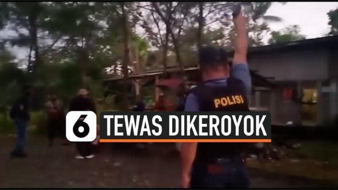 VIDEO: Seorang Pria Tewas Dianiaya di Yahukimo Papua