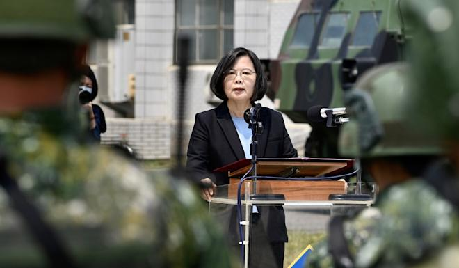 Cross-strait relations have deteriorated since Tsai Ing-wen's election as Taiwanese president. Photo: AFP