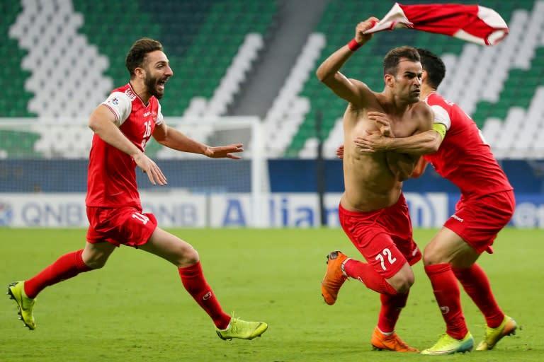 Persepolis oust Xavi's Al Sadd with late Champions League goal