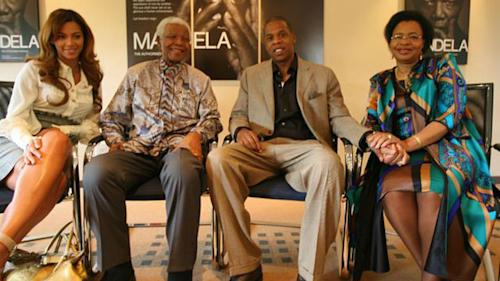 Celebs React to Nelson Mandela's Death