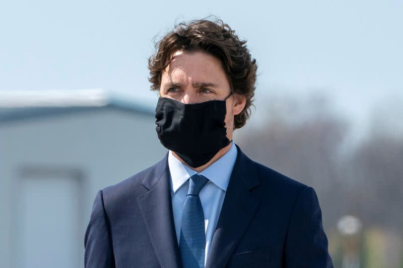 Canada ready to spend C$14 billion to get people back to work safely, PM Trudeau says