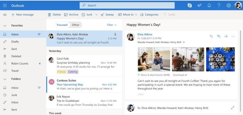 Outlook.com's new look