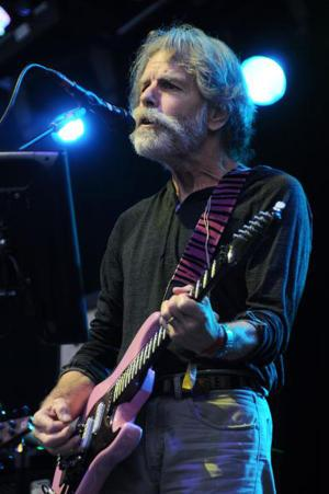 "Exclusive! Bob Weir Talks To Y! Music About ""The Bridge Session,"" Technology, And Letting The National Take The Lead"