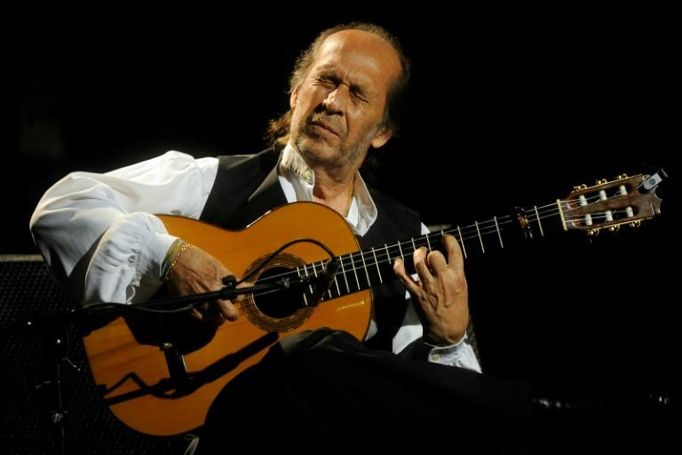 The late Paco de Lucia is one of the legendary flamenco performers to have played at Madrid's Casa Patas