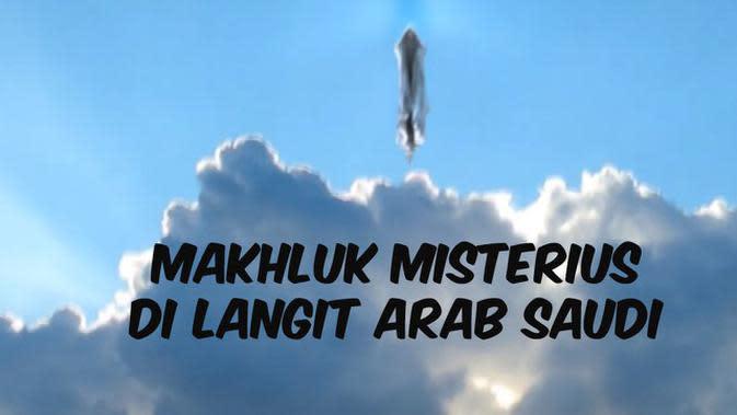 VIDEO CEK FAKTA: Rekaman Makhluk Misterius di Langit Arab Saudi