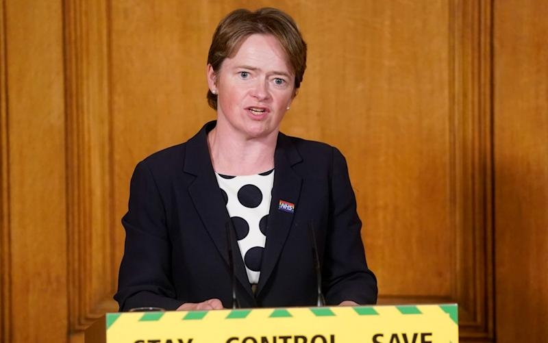 The NHS system, which is run by the former TalkTalk executive Dido Harding, involves more than 20,000 contact tracers employed by private firms such as Serco and Sitel - Andrew Parsons