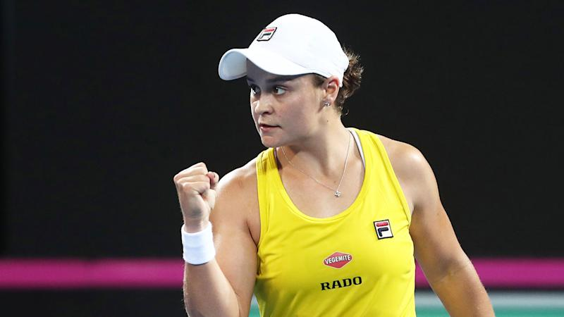 Australia defeat Belarus to make first Fed Cup final since 1993