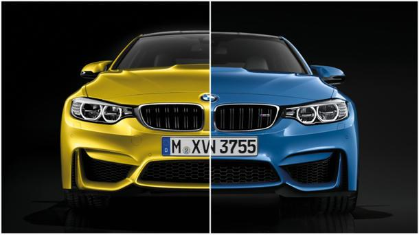 2015 BMW M3 and M4 revealed, featuring all-new twin turbo inline 6