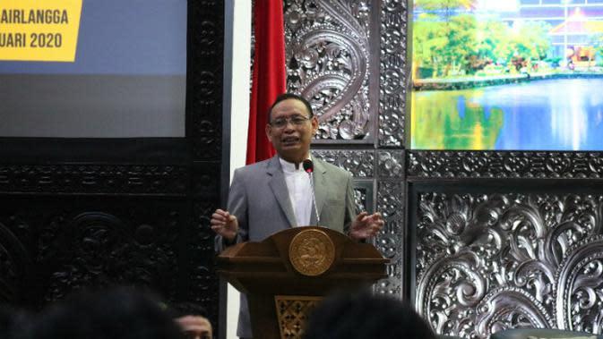 Rektor Universitas Airlangga Prof Nasih. (Foto: Liputan6.com/Dian Kurniawan)