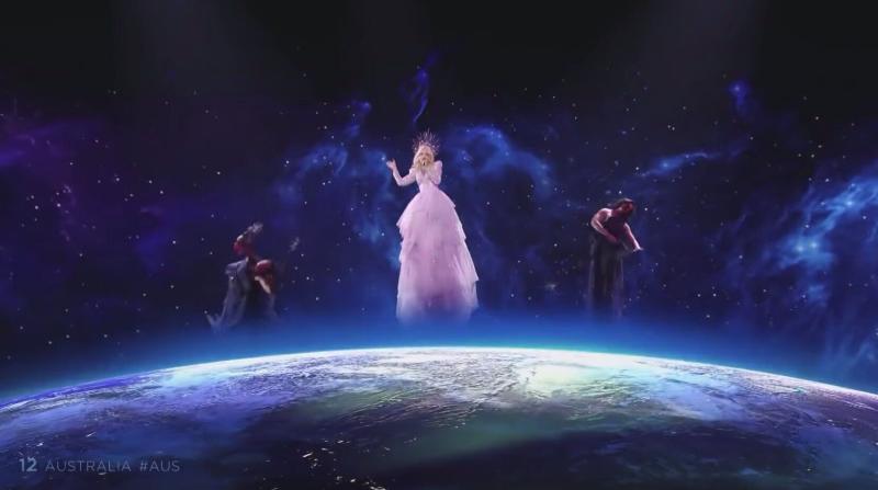 Australia's Kate Miller-Heidke performs 'Zero Gravity' at Eurovision 2019