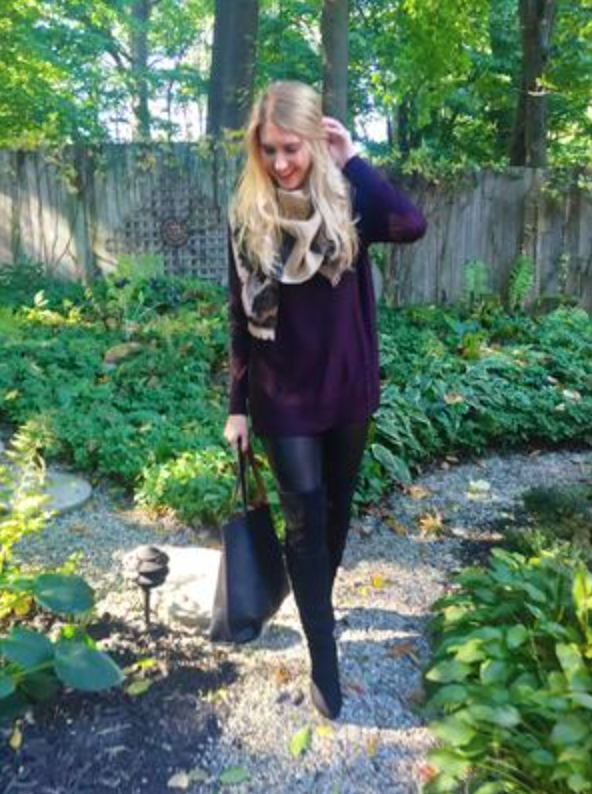 """""""I absolutely love this tote bag and its price point! It's sturdier than I thought it would be and I will be using this a lot this fall/winter,"""" said five-star reviewer kdeyoung (pictured). """"Highly recommend! A great alternative to the Madewell bag."""" (kdeyoung/Nordstrom)"""