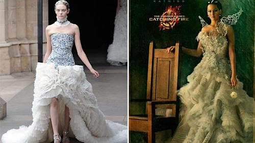 'The Hunger Games' couture'd characters get McQueen makeover