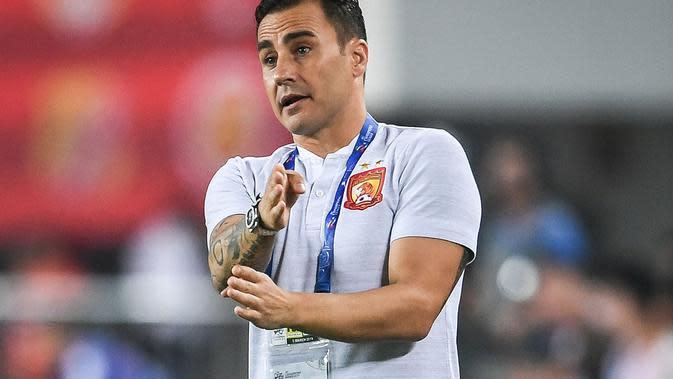 Fabio Cannavaro, pelatih Guangzhou Evergrande. (AFP/STR)