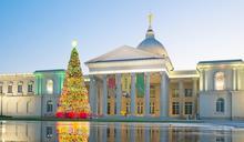 奇美博物館週末市集 13公尺「幸福耶誕樹」浪漫點燈