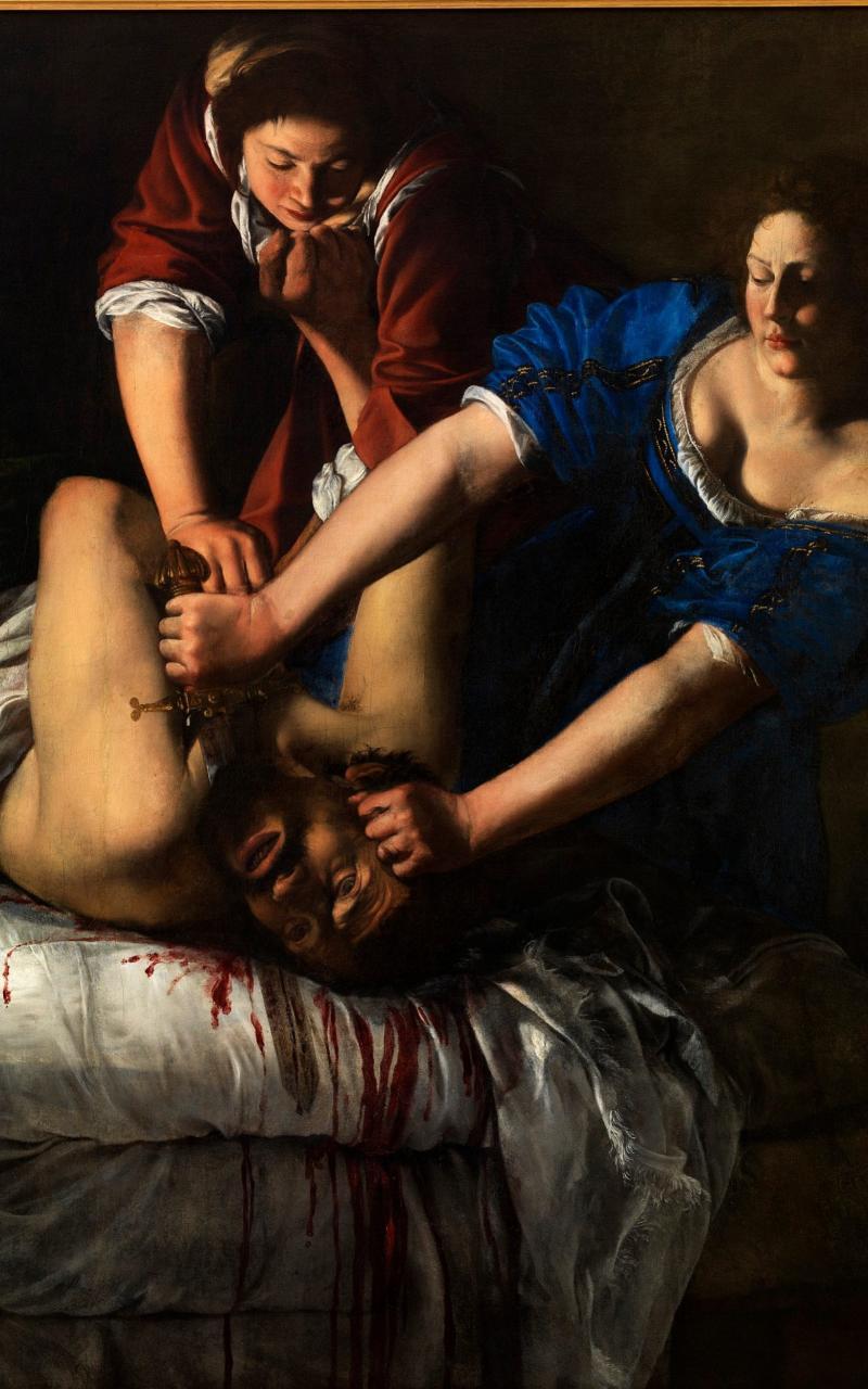 Judith Slaying Holofernes, oil on canvas - Luciano Romano/Museo e Real Bosco di Capodimonte 2016
