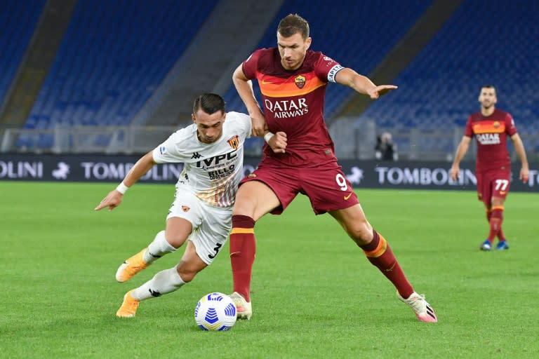 Sassuolo move second in Serie A, Dzeko lifts five-goal Roma