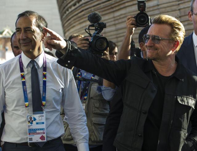 Bono Vox é esperado para julgamento de Lula, diz Requião
