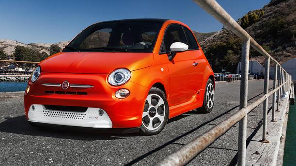 2013 Fiat 500e, the cinquecento elettrico: Motoramic Drives