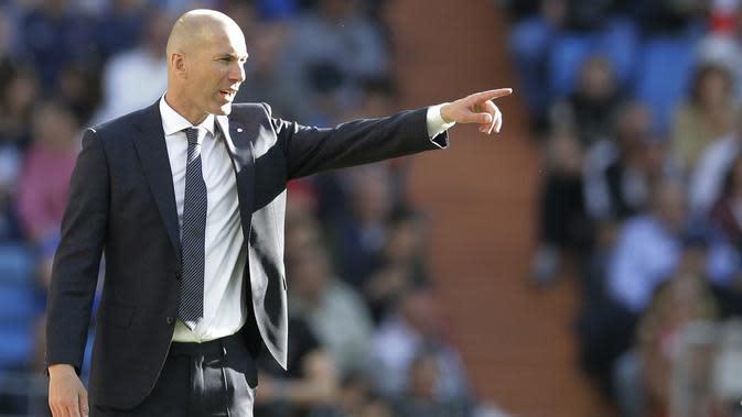 Zinedine Zidane (AP/Paul White)