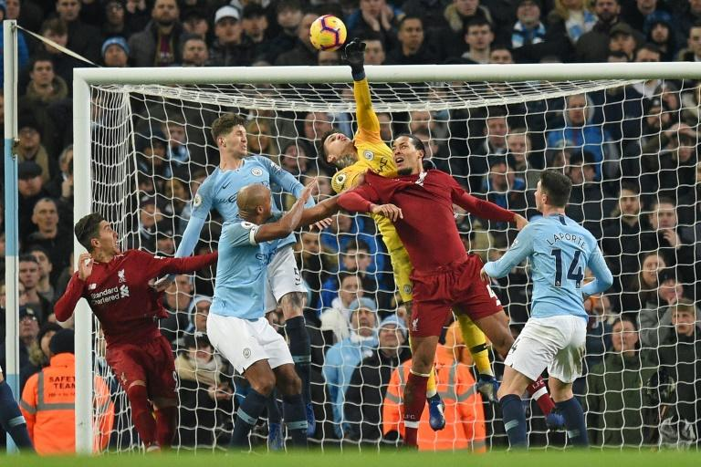 The Premier League's top two clash on Sunday when Liverpool host Manchester City