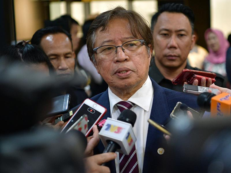 Sarawak Chief Minister Datuk Patinggi Abang Johari Openg says the Semenggoh Wildlife Centre has been awarded the World Excellence Tourism Awards 2020 under the category of Sustainable Tourism Programme. — Bernama pic