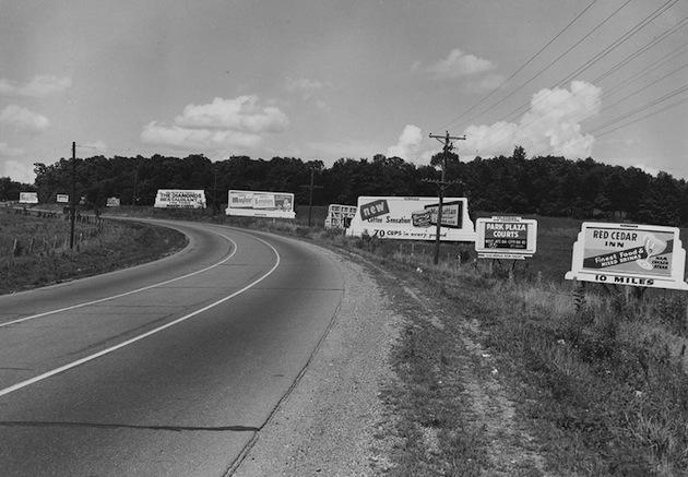 Oct. 22, 1965: Highway Beautification Act becomes law