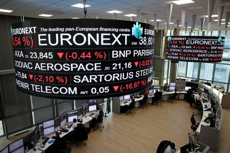 Saham Prancis melemah lagi dengan indeks CAC 40 merosot 0,69 persen