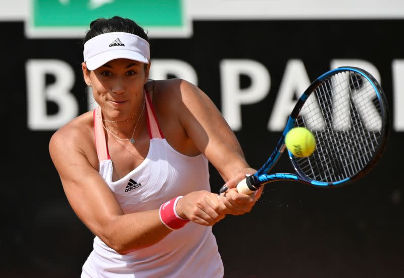 Muguruza survives three-hour battle against Zidansek