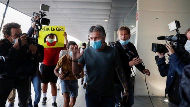 Jorge Horacio, Sosok Ayah di Balik Karier Gemilang Messi