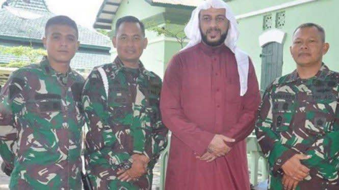 Tiba di Markas Kostrad TNI, Syekh Ali Jaber Ungkap Kunci Datang Rezeki