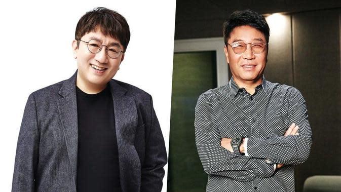 Bang Si Hyuk - Lee Soo Man (Soompi)