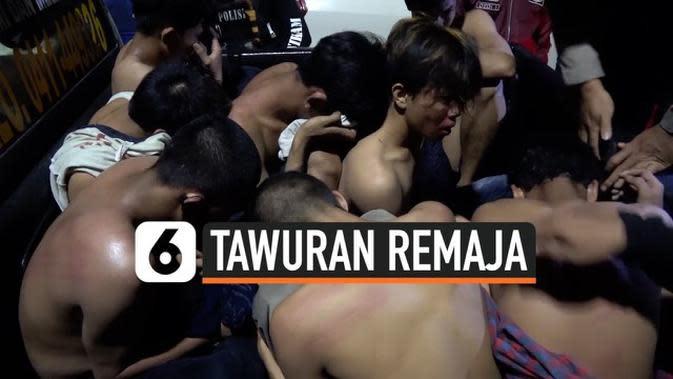 VIDEO: Ricuh Penangkapan Pelaku Tawuran di Kota Makassar