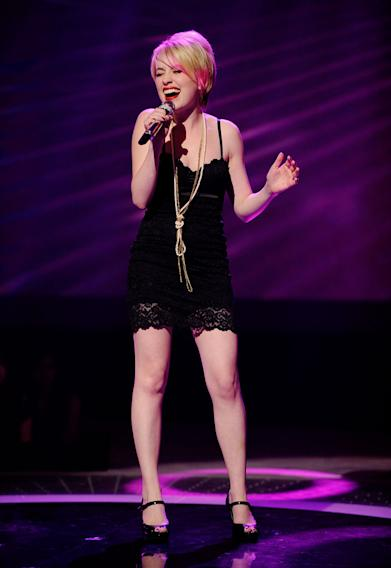 "Alexis Grace performs ""I Never Loved a Man (The Way I Love You)"" by Aretha Franklin on ""American Idol."""