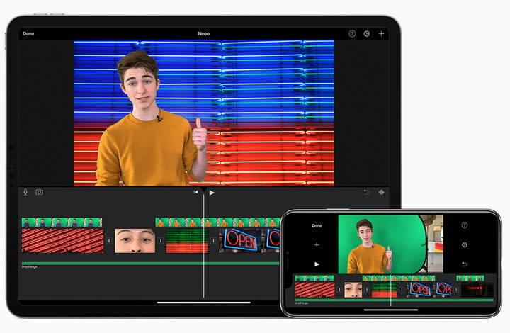 iMovie mobile app