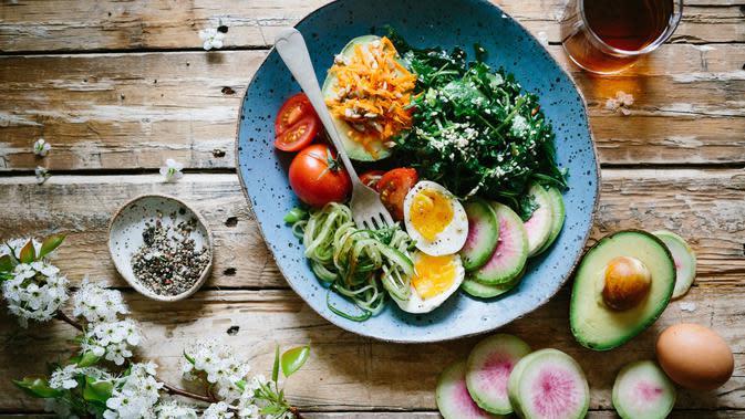 ilustrasi makanan sehat/unsplash