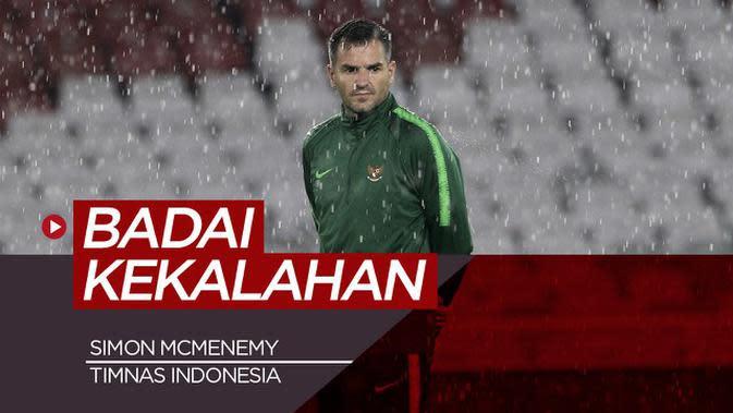 VIDEO: Badai Terus Menghampiri Simon McMenemy Pelatih Timnas Indonesia