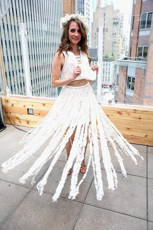 Wedding Dresses Made From Toilet Paper