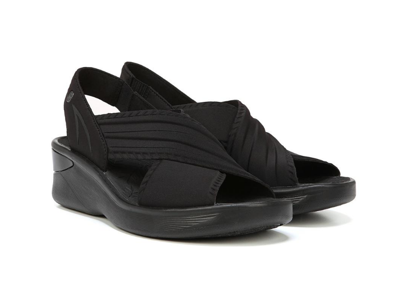 BZees Sunset Wedge Sandal. Image via BZees.