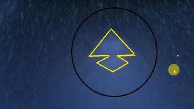 Peneliti Argentina Marcelo Igazusta, mengklaim bahwa objek berukuran lebih dari 8,5 mil adalah UFO (Google Maps)