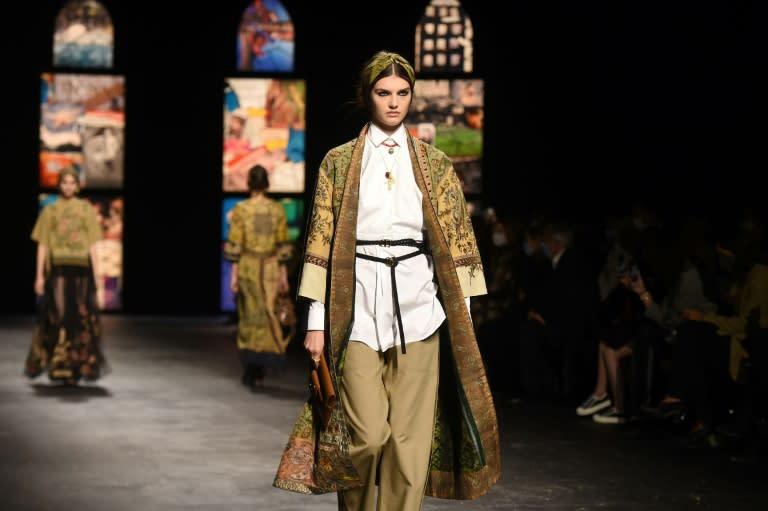 Dior restarts Paris fashion with a hug of comfort clothes