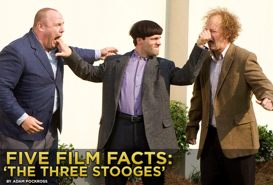 Five Film Facts The Three Stooges