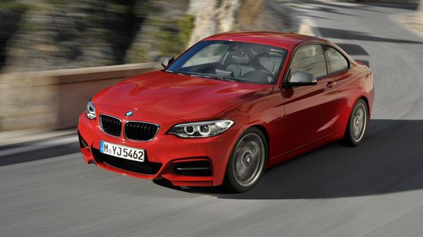 BMW reveals the 2-Series coupes, and a successor of sorts to the 1M